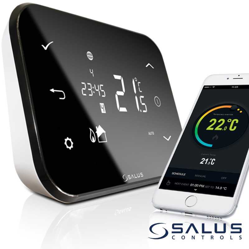 Salus iT500 Fernbedienbarer Funk-Thermostat
