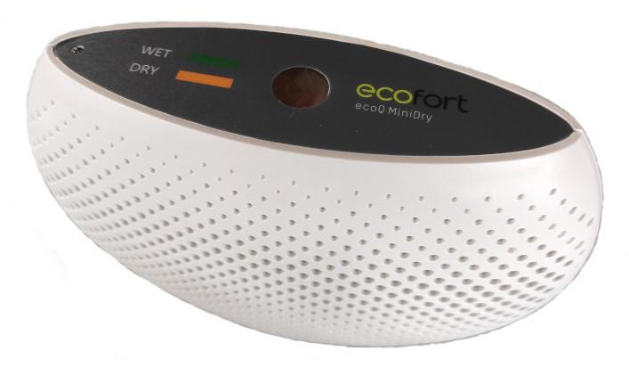 ecofort ecoQ MiniDry Luftbefeuchter ohne Strom