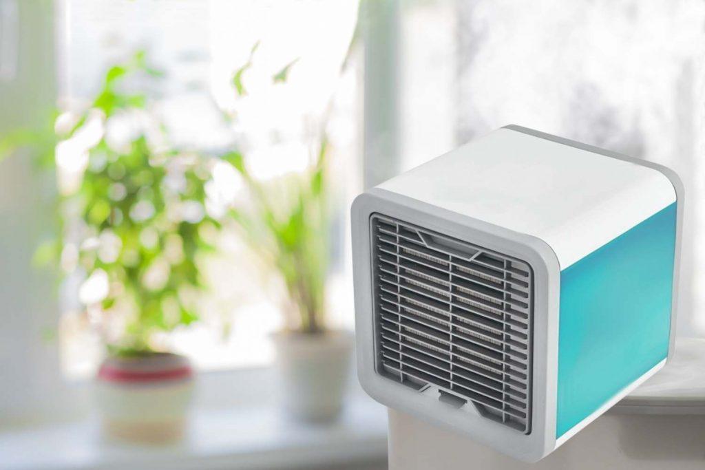 Luftkühler haben nichts mit Klimageräten zu tun.