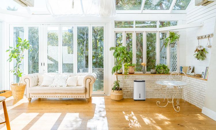 Nicht Jeder Luftentfeuchter ist für den Wintergarten geeignet
